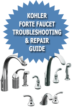 Kohler Forte Faucet Troubleshooting Repair Guide