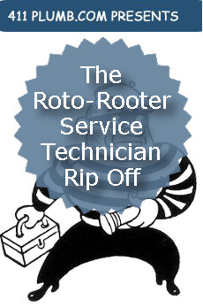 The Roto-Rooter Service Technician Rip Off