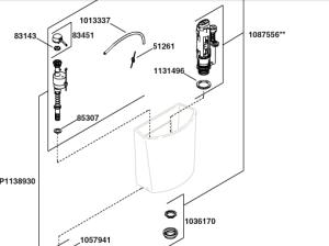 Kohler K-4419 Parts Diagram