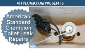 American Standard Champion Toilet Leak Repairs