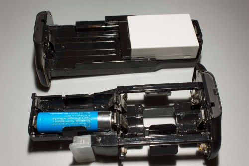 Two battery magazines