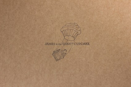 james and the giant cupcake