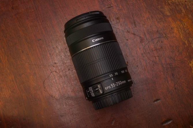55-250mm lens