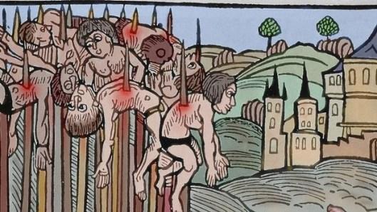 medieval impalement method