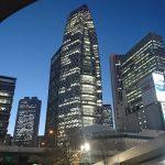 新宿のシンボルのタワー