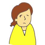 涙を流している女性の相談者