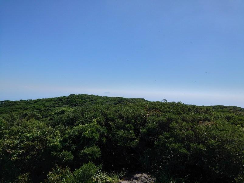 開聞岳の山頂