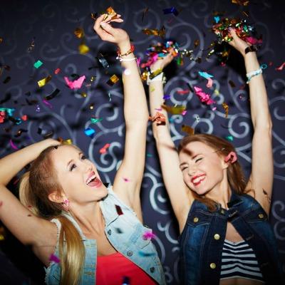 Girls Fun Partying Cannabis