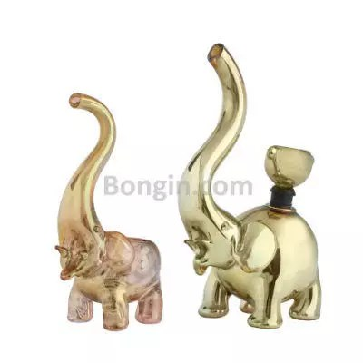 Elephant Glass Pipe Review - Rose Gold