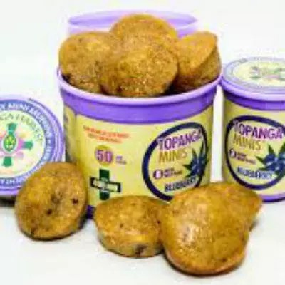 Topanga Mini Muffins Marijuana Edibles Review