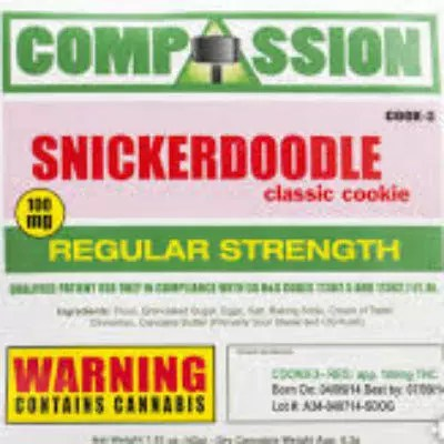 Snickerdoodle Marijuana Edibles Review