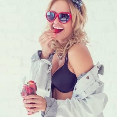 Strawberry THC e-Liquid Review 1