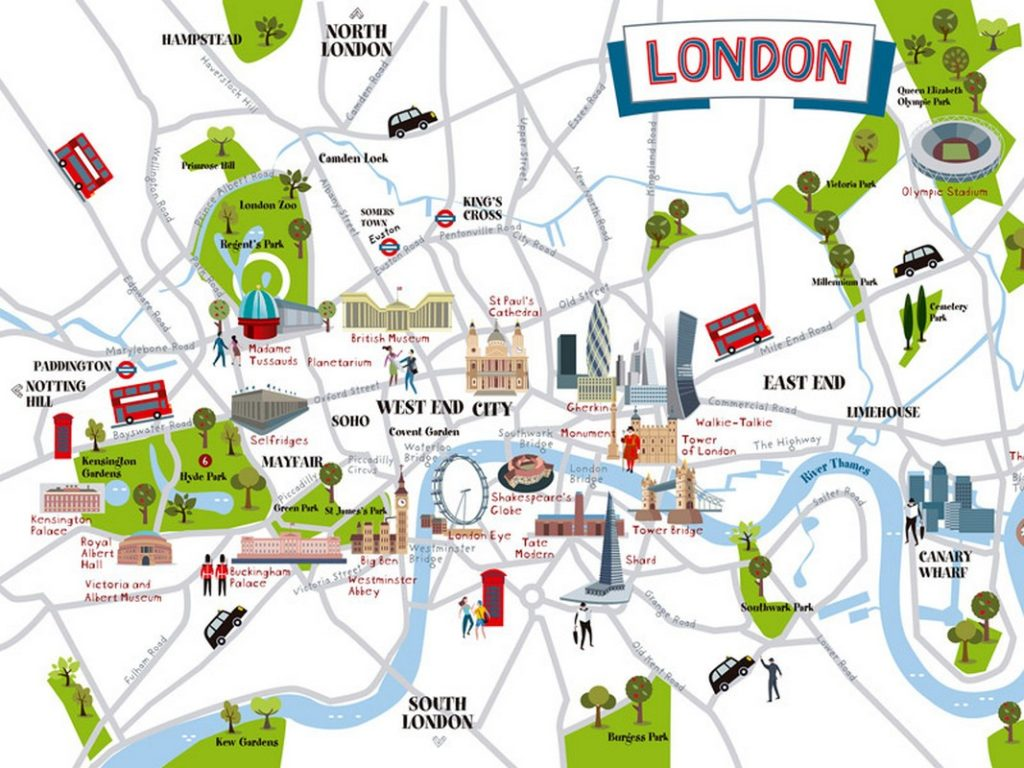 All Maps Of London Travel Blog