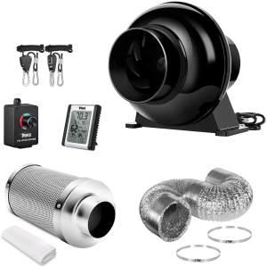 Inline Fan Carbon Filter