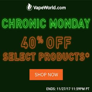 Vape World Cyber Monday Coupon Code