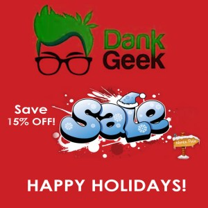 Holiday Sale DankGeek Coupon Code