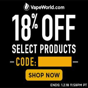 Vape World New Years Sale