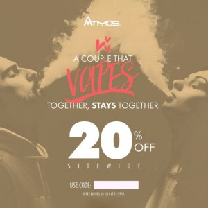 Valentine's Day Atmos coupon code