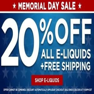 Memorial Day Sale Direct Vapor Coupon Code