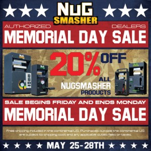 Memorial Day Sale Nug Masher LED Grow Lights Depot Coupon Code