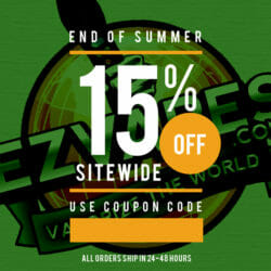 Labor Day Discount EZVapes Coupon Code