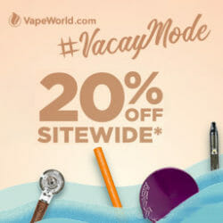 Holding Onto Summer Sale VapeWorld Discount Code