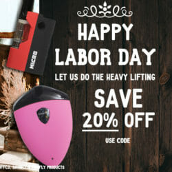 Labor Day Sale Got Vape Discount Code