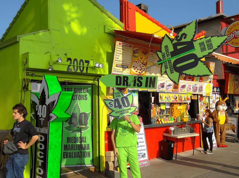 大麻ショップ
