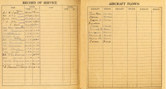 Logbook pages 29-30