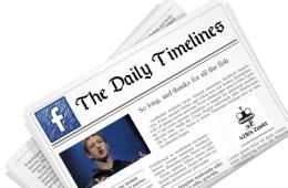 Facebook newsreader app