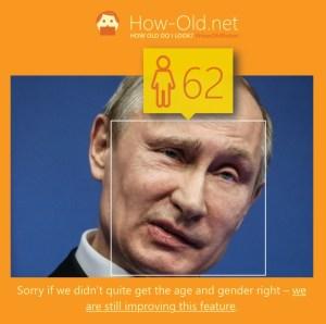Poetin how old