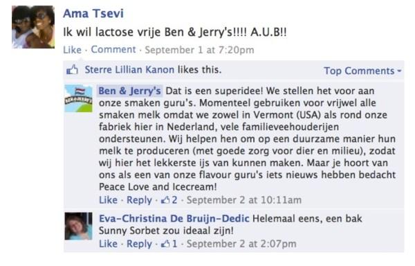 Webcare-van-Ben-Jerrys-op-de-Nederlandse-Facebookpagina