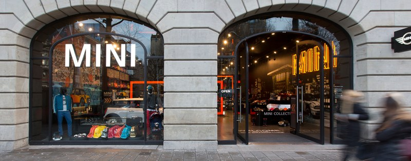 Mini brandstore
