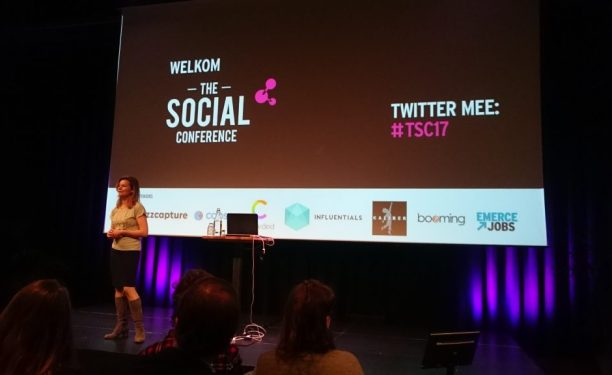 Roos van Vugt opende The Social Conference 2017
