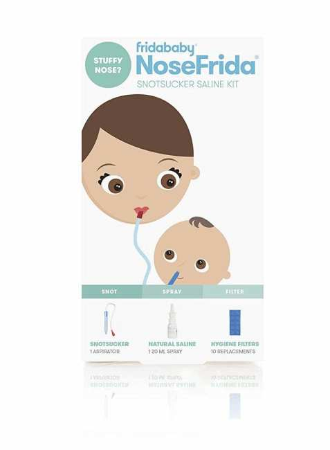 how to clean baby's nose