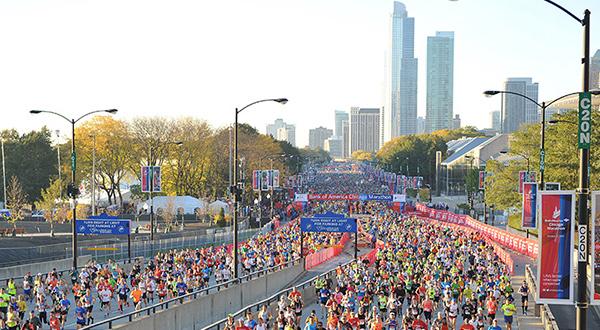 Unos 45 mil participantes estarán este domingo en el maratón de Chicago/Running.competitor.com