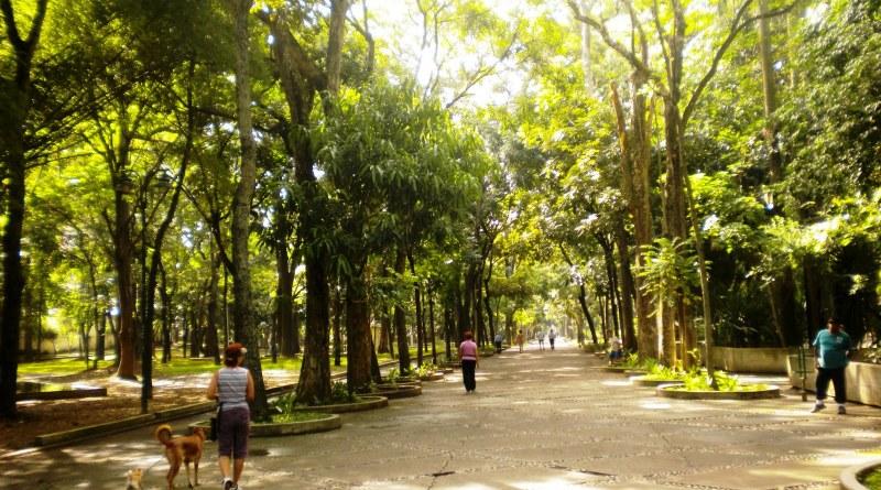 Las instalaciones del Parque Los Caobos es uno de los espacios que los caraqueños usan para ejercitarse/Cortesía