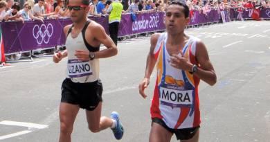 Pedro Mora en su participación en los Juegos Olímpicos de Londres 2012/Cortesía