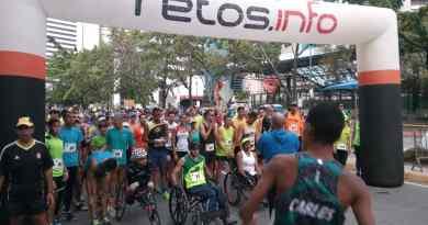 La salida se dio a eso de las 7 a.m. desde la entrada norte del Parque del Este en la avenida Francisco de Miranda/Ernesto Linzalata