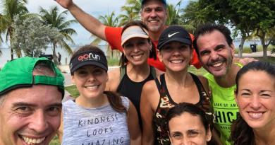 Un grupo de venezolanos se sumó este año a los maratonistas presentes en Washington/Reuters