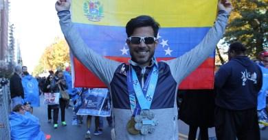 Pedro Ossorio pasa a formar parte de un especial grupo de corredores en el mundo que finalizaron los seis majors en menos de tres horas/Cortesía