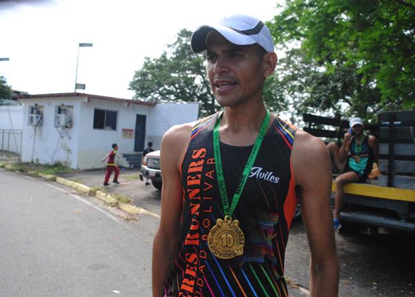 Carlos Avilé, uno de los mejores maratonistas de Venezuela/Cortesía Primicia