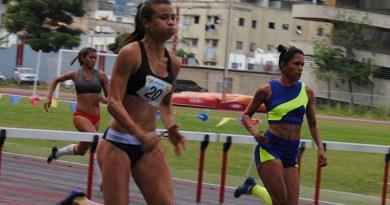 Yoveinny Mota, especialista en 100 metros con vallas