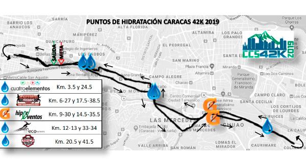 La salida será a las 6:00 am desde el Parque Los Caobos