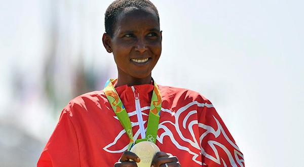Eunice Kirwa, medallista de plata de Río 2016, también dopada. Cortesía Sports Ilustrated