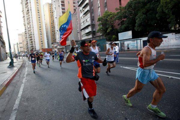 La media maratón Simón Bolívar es una de las tradicionales carreras del país