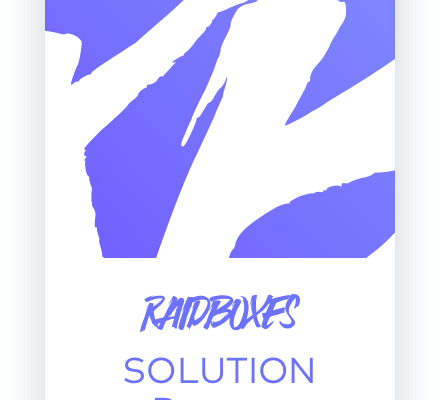 Wir sind RAIDBOXES SOLUTION Partner