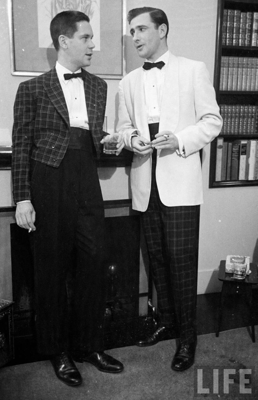 plaid menswear formalwear