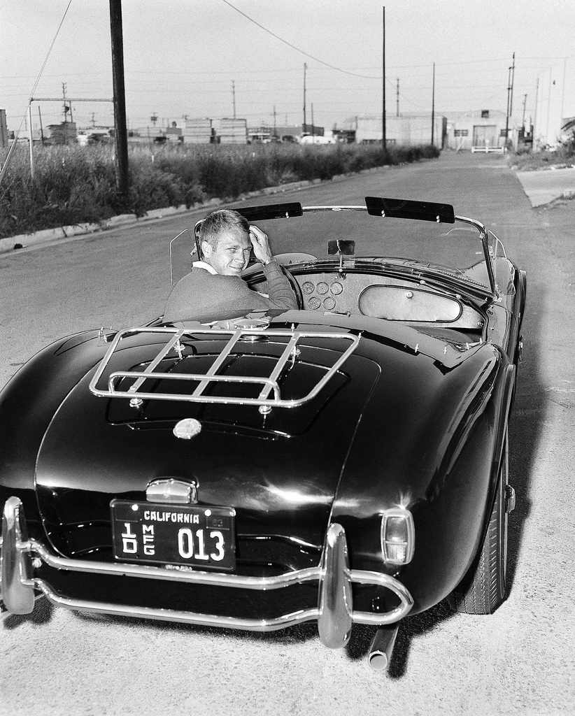 Steve McQueen Jaguar