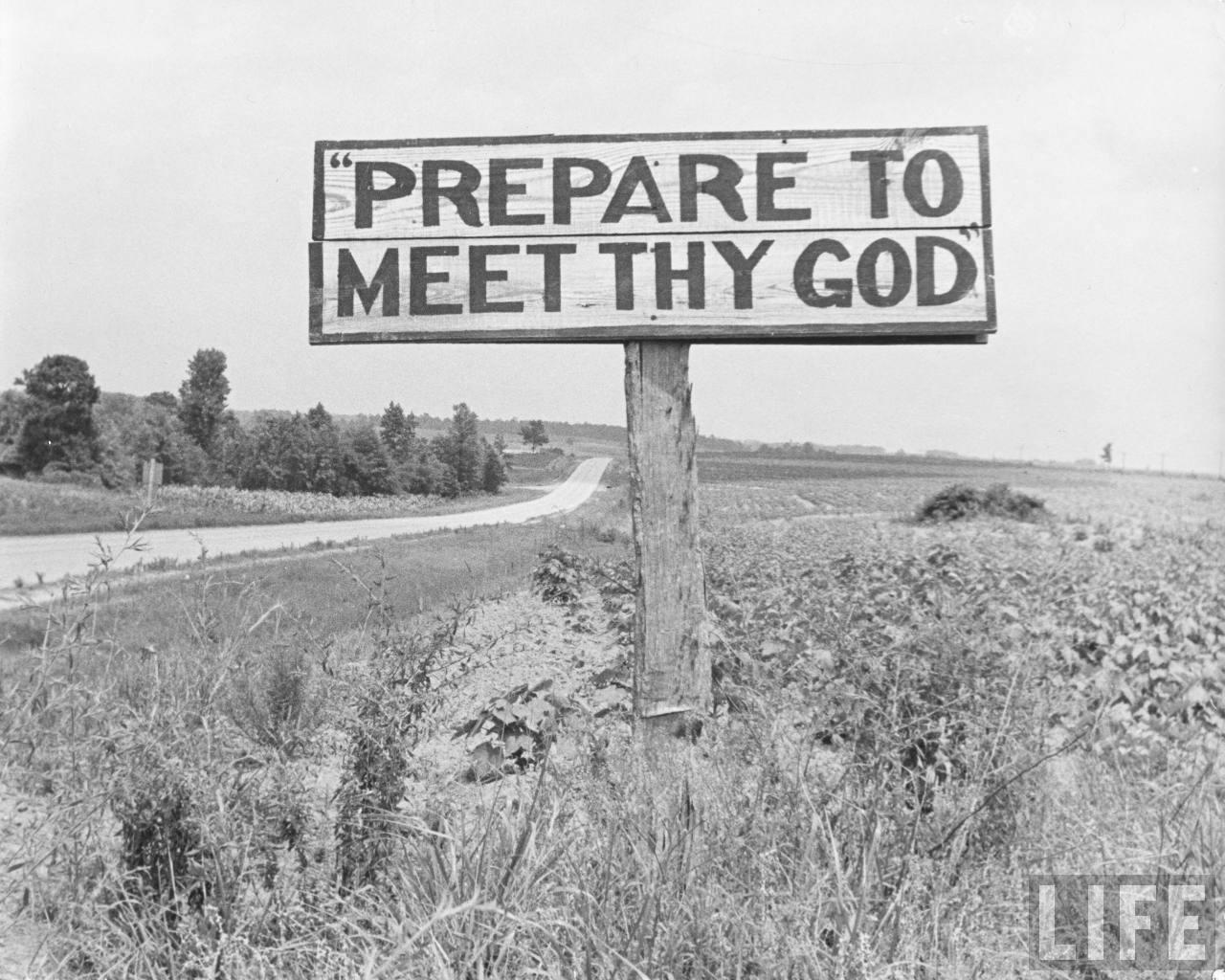 vintage church sign